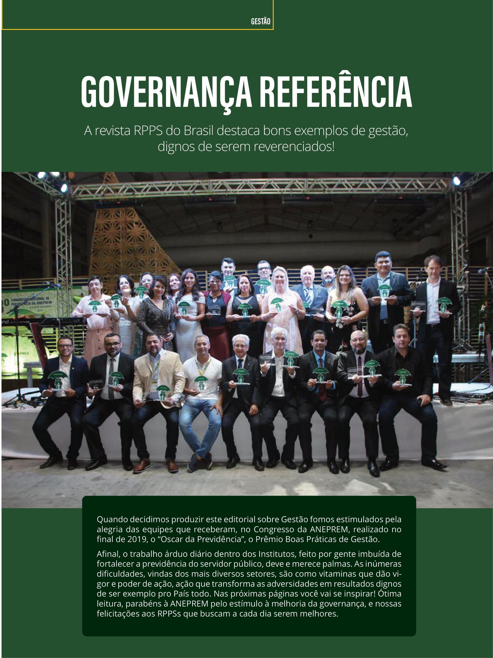 Revista RPPS Brasil – Viçosa-Prev tem práticas de gestão reconhecidas